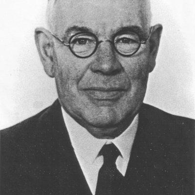 Pastor George H Weir (1924-38)