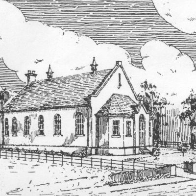 Sketch-of-Proposed-Original-Building-appeared-in-Baptist-Magazine-January-1926