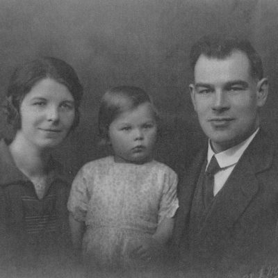 Pastor George and Mrs Maud Weir and Daughter