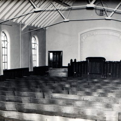 Interior of Original Building