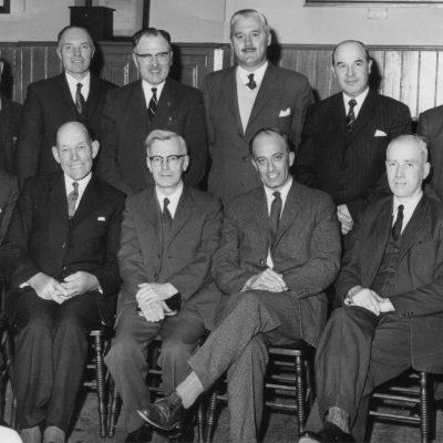 Pastor William Weir, Elder Alex Russell and Deacons