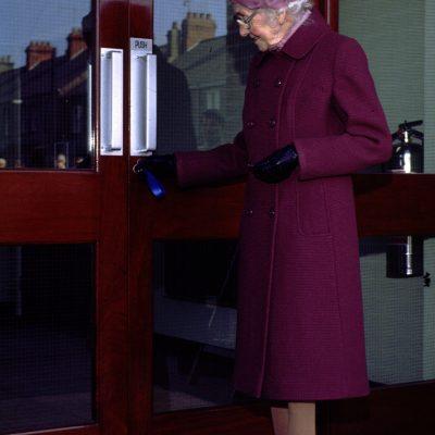 Mrs Clara Corbett Opening New Halls 1982