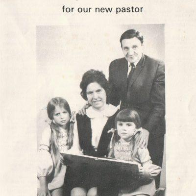 Pastor Paul Tucker Induction