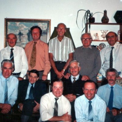 Pastor P Tucker and Office Bearers